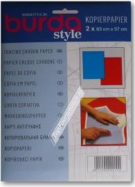 Burda kopieerpapier (blauw)