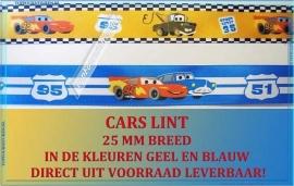 Cars lint oranje & geel (DISNEY 3074)