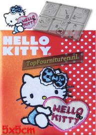 Hello Kitty blauw reflekterend (no.8)