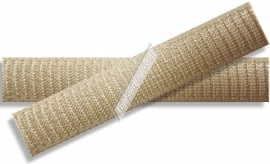 Soepel en zacht elastiek 16mm breed huidskleur
