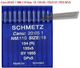 Schmetz Canunaalden Size 110