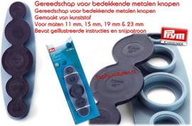 Universeelpons  voor stofknopen 11-29mm