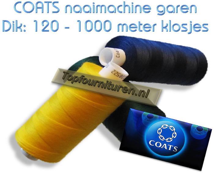 Wit & Off White naaimachinegaren 1000 meter
