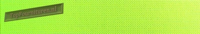Reflecterend elastiek 2,5cm geel