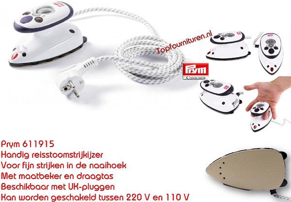 Stoomstrijkijzer 611915 PRYM