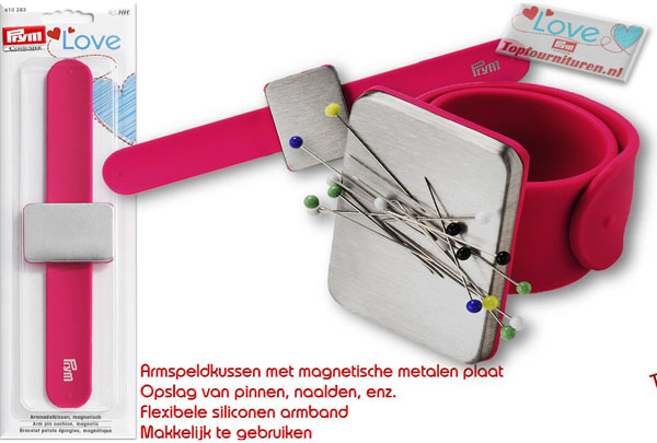 Magnetisch armbandspeldenkussen PRYM 610283