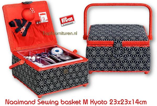 Naaibox Sewing basket M Kyoto Prym 612030