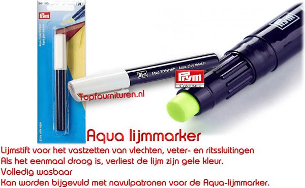 Aqua lijmmarkeerstift Prym 987185