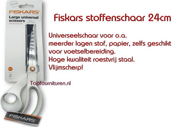 Fiskars stoffen/coupeuseschaar 24cm rechtshandig