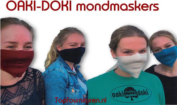 Mondmaskers (prijs per 4 stuks assorti)