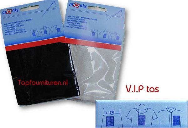 VIP tas voor een veilige vakantie.