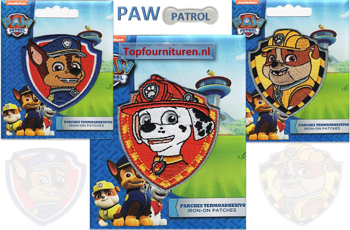 Wonderbaarlijk PAW Patrol applicaties | Topfournituren.nl GK-16