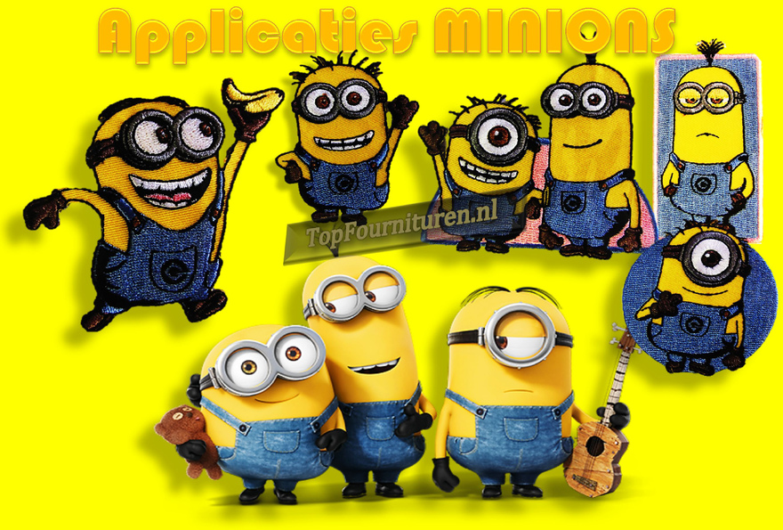 Betere Minions applicaties | Topfournituren.nl DY-84