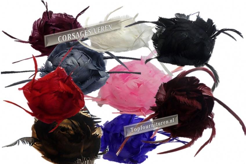 corsages veren-www.topfournituren.nl