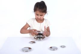 Zilveren Senso Discs