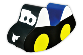 Softplay HobbelAuto Zwart