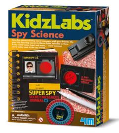 Spy Science Geheimschrift