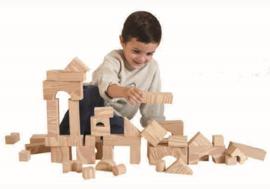 Houtstructuur Blokken - Grote Doos