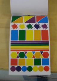 Stickerboek Vormen