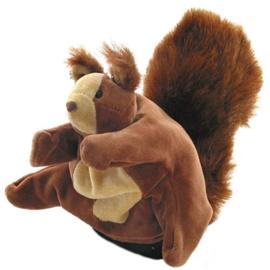 Handschoenpop Eekhoorn