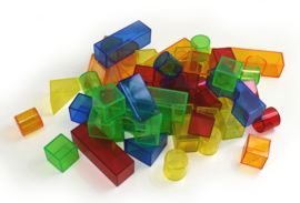 Transparante Kasteel Blokken
