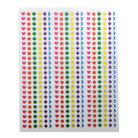 3D Kristal Stickers