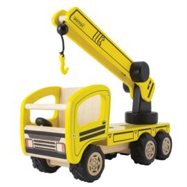 Gele Kraanwagen
