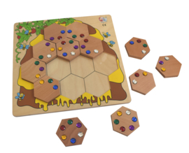 Bijen DiamantPuzzel