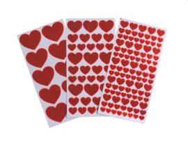 Glitter Hart Stickers