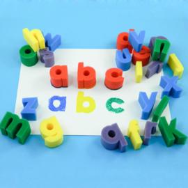 SponsStempels Letters