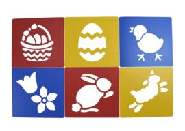 Sjablonen Pasen / Voorjaar