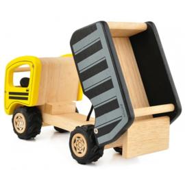 Gele Kiepwagen