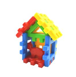 Grote WafelBlokken - Huis met Poes