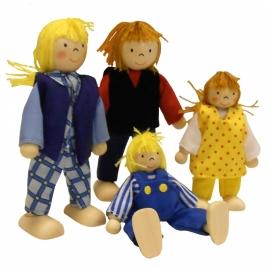 Buigpopjes Familie Jansen