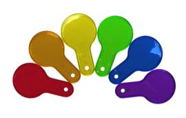 Doorzichtige Kleuren Peddels