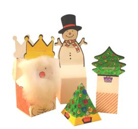 Kerstdoosjes Maken