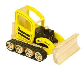 Gele Bulldozer