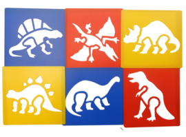 Sjablonen Dino's