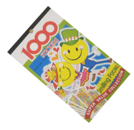 Stickerboek Smiley's