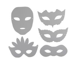 Kartonnen Maskers
