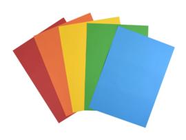Gekleurd A4 Papier Gemengd