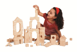 Houtstructuur Blokken - Kleine Doos