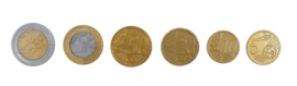 Speelgeld Euro's in Netje