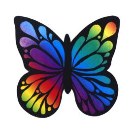 Knutsel Idee - Vlinder Krassen