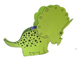 Traktatie Werkblad - Dino's
