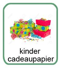 Kinder CadeauPapier