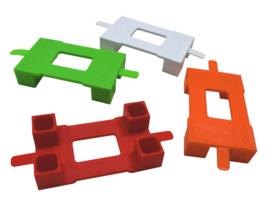 Grote WafelBlokken - Connector voor Grondplaat