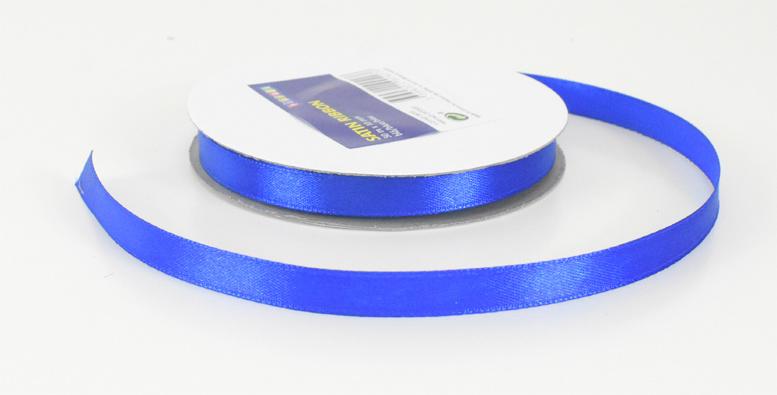 Satijnband 10mm Blauw