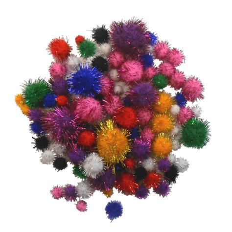 Pompom Glitter