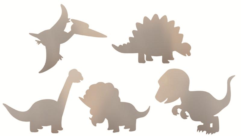 Kartonnen Dino's